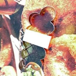 Cortante Metal Armador De Rosas Chico - Cod 1146 X Unid. - Cairo Cairo - 1