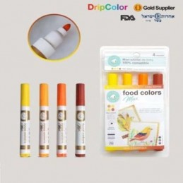 Marcador Comestible Max Sunrise X    4 Unid. - Food Colors Food Colors - 1