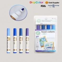 Marcador Comestible Max Ocean X    4 Unid. - Food Colors Food Colors - 1