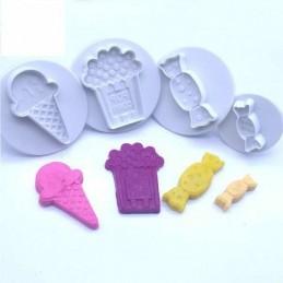 Cortante Con Expulsor Set - Candy - 5005 X Unid.  - 1