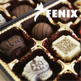 Chocolate Cobertura Blanco Para Templar - 90 X  10 Kg - Fenix Fenix - 1