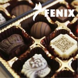 Chocolate Cobertura Negro Para Templar 60% - 86 X  10 Kg - Fenix Fenix - 1