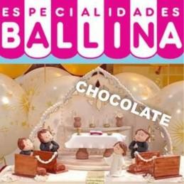 Pasta De Forrar Tortas - Chocolate X   3 Kg - Ballina Ballina - 1