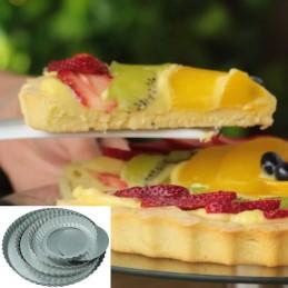 Molde Pasta Frola Desfondable Nº 22 Laton X Unid.  - 1