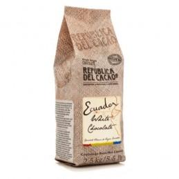 Chocolate Cobertura Blanco Para Templar X 2.5 Kg - Republica Del Cacao Republica Del Cacao - 1