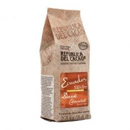Chocolate Cobertura Negro Para Templar 56% X 2.5 Kg - Republica Del Cacao Republica Del Cacao - 1