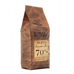 Chocolate Cobertura Negro Para Templar 70% X 2.5 Kg - Republica Del Cacao Republica Del Cacao - 1