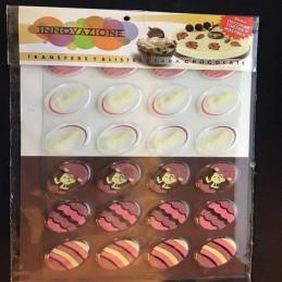 Blister Transfer Para Chocolate Pascuas X   24 Unid. - Lodiser Lodiser - 1