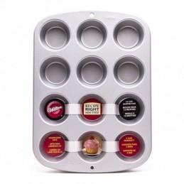 Molde Cupcakes De Teflon Para 12 Unid. - 2105-954 X Unid. - Pyrex Pyrex - 1