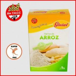 Harina De Arroz - Sin Tacc X   1 Kg - Glutal Glutal - 1