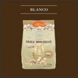 Chocolate Baño Moldeo Pins - Blanco X   1 Kg - Alpino Alpino - 1
