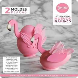Molde Especial Para Huevo Flamenco X Unid.  - 1