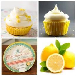 Buttercream - Crema De Manteca - Limon X  360 G - Pastelar Pastelar - 1