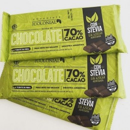 Chocolate Familiar Negro Para Taza Con Stevia X  100 G - Colonial Colonial - 1
