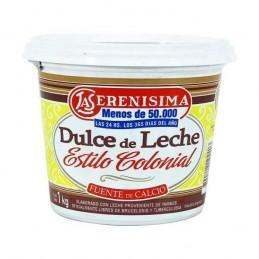 Dulce De Leche - Estilo Colonial - X   1 Kg - La Serenisima La Serenisima - 1