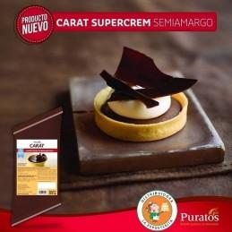 Relleno Supercrem Semiamargo X  500 G - Carat Carat - 1