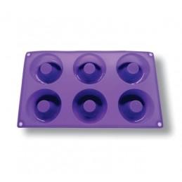Molde Para Donnas  Silicona - 6 Cavidades X Unid.  - 1