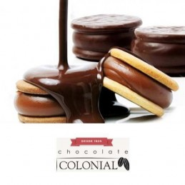 Chocolate Baño Reposteria Con Leche Esp. X  250 G - Colonial Colonial - 1