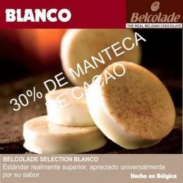 Chocolate Cobertura Blanco Para Templar X  250 G - Belcolade Belcolade - 1