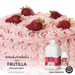 Crema Vegetal Frutilla X 4.7 Kg - Ledevit Ledevit - 1