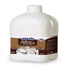Crema Vegetal Chocolate X 4.7 Kg - Ledevit Ledevit - 1