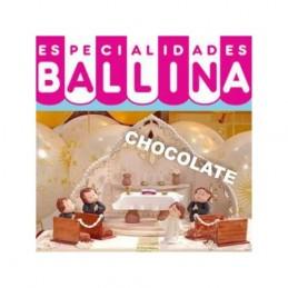 Pasta De Forrar Tortas - Chocolate X  500 G - Ballina Ballina - 1