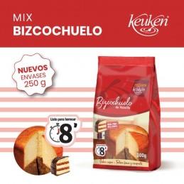 Polvo Mix Para Preparar Bizcochuelo Vainilla X  300 G - Keuken Keuken - 1