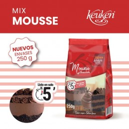Polvo Mix Para Preparar Mousse De Chocolate X  250 G - Keuken Keuken - 1