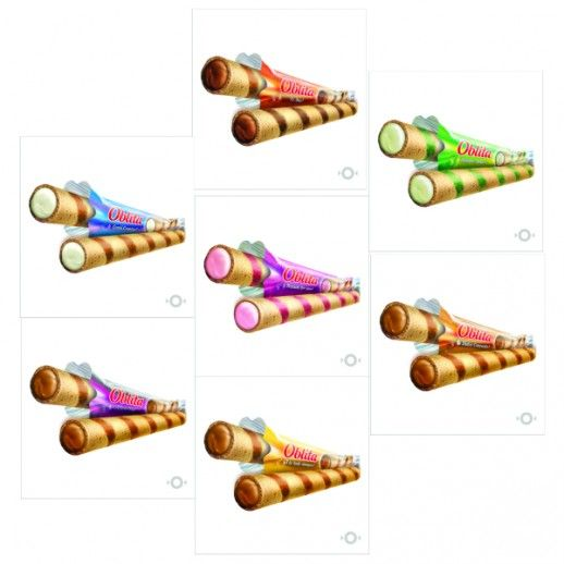 Cubanitos Rellenos - Sabores Varios - A Granel X   1 Kg - Oblita Oblita - 1