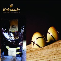 Chocolate Cobertura Blanco Para Templar - Amber X   1 Kg - Belcolade Belcolade - 1