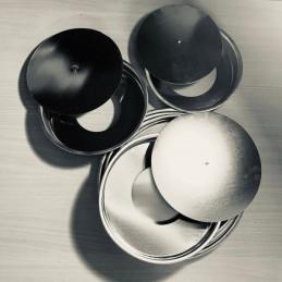 Molde Desfondable Liso Para Tarta Nº 18 Metalico X Unid.  - 1