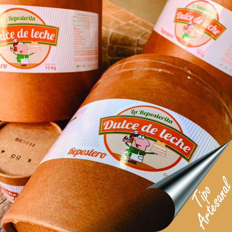 Dulce De Leche Repostero Tipo Artesanal X  10 Kg - La Reposterita La Reposterita - 1