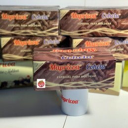 Chocolate Baño Moldeo Semiamargo -Et.Roja X   1 Kg - Mapricoa Mapricoa - 1