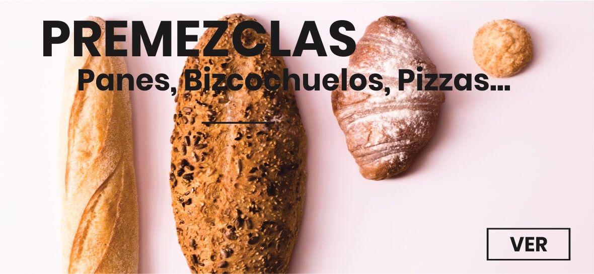 Premezclas - Panes, Bizcochuelos, Pizzas